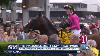 The Preakness Stakes might be staying in Baltimore