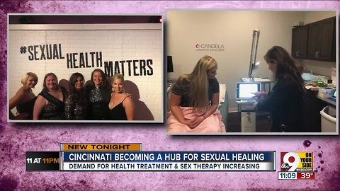 The Queen City is becoming a hub for sexual healing