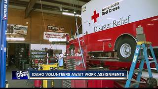 Idaho volunteers prepare to assist with disaster relief in Texas - Video