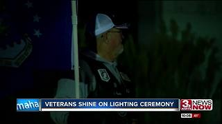 VETERANS SHINE ON LIGHTING CEREMONY - Video