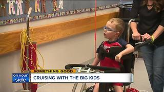 North Ridgeville boy with special needs gets a special bike