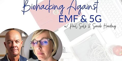 """Biohacking 5G / Electromagnetic Radiation"" with Sarah Harding - Solutions from the Underground"