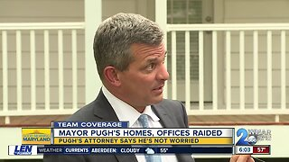 Attorney speaks of Pugh's wellness during impromptu TV interview