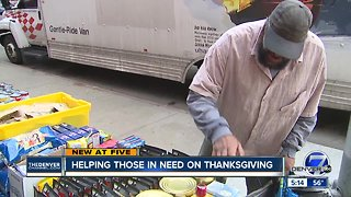 Helping those in need on Thanksgiving