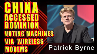 BREAKING: CHINA (CCP) ACCESSED DOMINION VOTING MACHINES VIA WIRELESS MODEMS