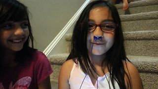 Funny Headphones In The Nose Trick