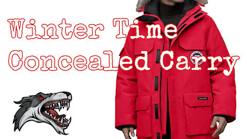 Winter Time Concealed Carry, Gear and Tips to carry properly