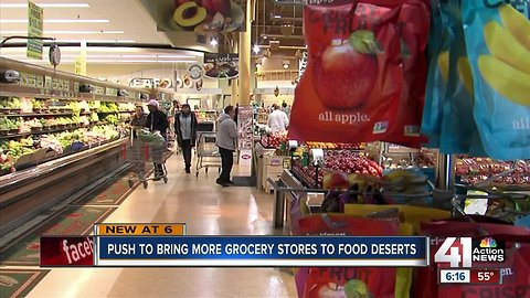 Community efforts to bring in grocery stores to food deserts could get help from new bill