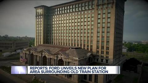 Reports: Ford unveils new plan for area surrounding old train station