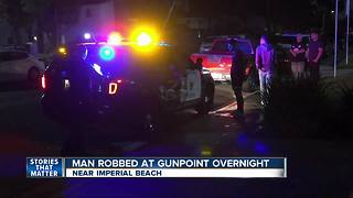 Man attacked, robbed at gunpoint in Imperial Beach area