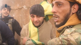 Video Shows Turkish-Backed Syrian Rebels Arresting Kurdish Fighter in Afrin Countryside - Video