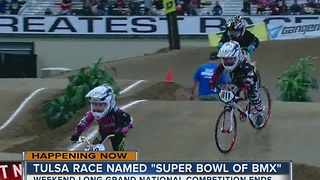 The Super Bowl of professional BMX races ends in Tulsa on Sunday - Video