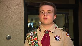 Teen's Eagle Scout project accepted as donation by Henderson