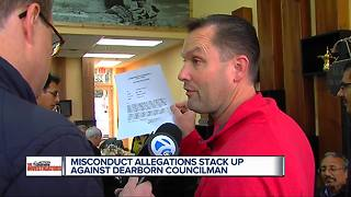 Dearborn Councilman Tom Tafelski accused of misconduct - Video