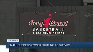 Small business owner fighting to survive