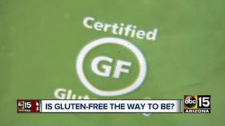 ASU report finds that gluten-free isn't healthier for you - Video