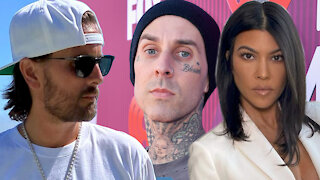 Scott Disick's SURPRISING Reaction To Kourtney Kardashian Officially Dating Travis Barker!