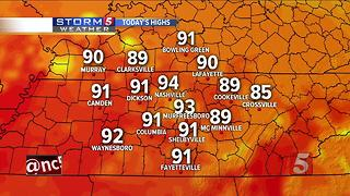Lelan's Morning Forecast: Tuesday, July 25, 2017 - Video
