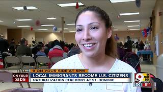 Naturalization ceremony held at St. Dominic