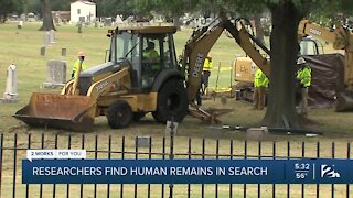 Remains Found in the Investigation into the 1921 Tulsa Race Massacre
