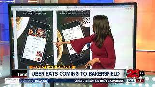 UberEats Launching in Bakersfield - Video
