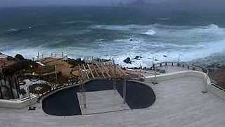 Tropical Storm Lidia Approaches Cabo San Lucas - Video
