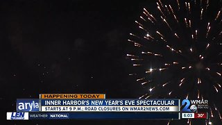 New Year's Eve Spectacular to close some city streets