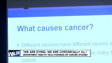 Department of Health reveals what's behind the 'cancer cluster'