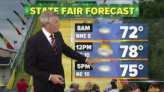 Chance for pop-up showers Tuesday - Video