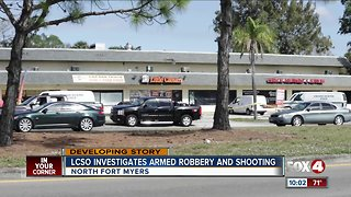 Armed Robbery in North Fort Myers Saturday morning