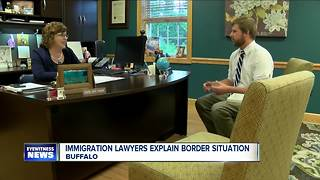 Immigration lawyers explain southern border situation - Video