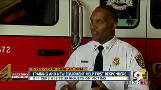 Training and new equipment helped first responders