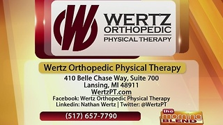 Wertz Orthopedic Physical Therapy- 12/12/16 - Video