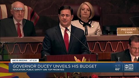 Governor Ducey unveils his 2020 budget