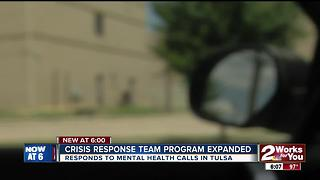 City of Tulsa announces expansion of 'Crisis Response Team' for mental health calls - Video