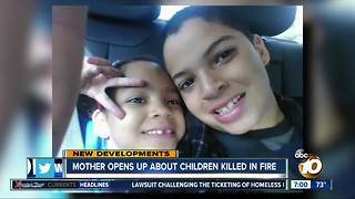 Mother opens up about children killed in fire