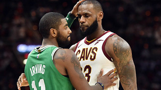 LeBron James is SALTY Over Kyrie Irving's Success in Boston - Video