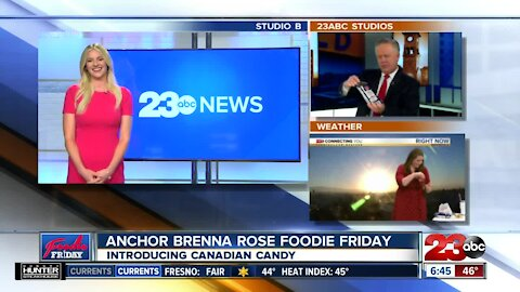 Foodie Friday: Trying Canadian treats with 23ABC Brenna Rose