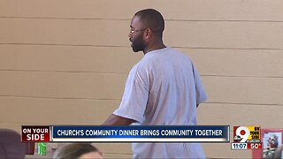 Church's Christmas dinner brings community together