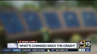 What has changed since TV helicopter crash?