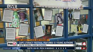 Cape Coral High School celebrates reading at second annual literacy festival - 7am live report - Video