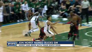 Bucks announce new GM - Video