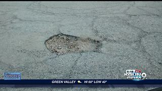 Pothole Patrol success on eastside and southside - Video