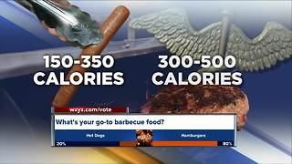 Which is healthier? Hot dogs or hamburgers? - Video