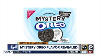 Oreo reveals it's Mystery Flavor - Video