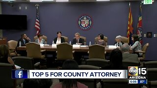 Top 5 candidates for Maricopa County Attorney