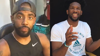 Kyrie Irving & Joel Embiid are PISSED Over NBA 2K18 Ratings - Video