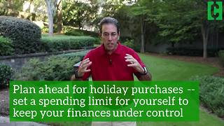How to budget for holiday shopping