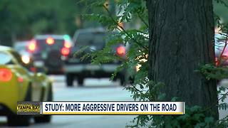 Study: More aggressive drivers on the road - Video
