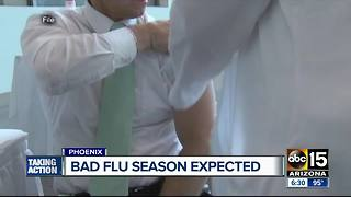 Ways to avoid the flu as bad season approaches - Video